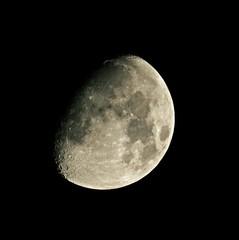 Mond über Nordhessen