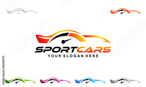 car logo modern car and professional automotive vector logo design
