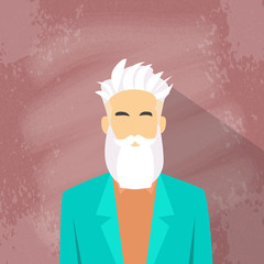 Profile Icon Male Avatar Man Hipster Style Fashion