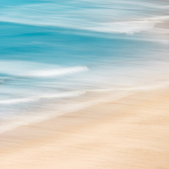 Fototapete - Beach and Surf