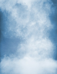 Wall Mural - Blue Fog with Texture
