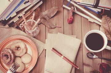 コーヒーブレイク,カフェイメージ