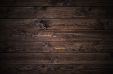 Photo sur Plexiglas Bois dark wood planks background
