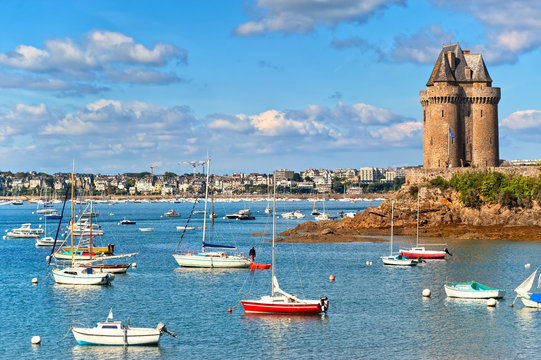 Solidor Tower, Saint Malo, Brittany, France