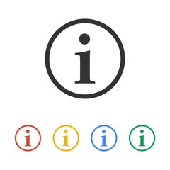 info vector icon