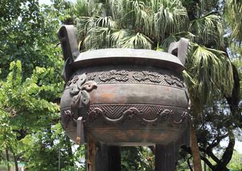 giant incense burner of Po Lin Temple, Hong Kong