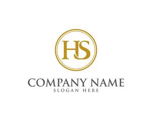 HS Letter Logo Icon 1