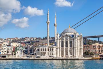 View on Ortakoy Mosque form Bosphorus