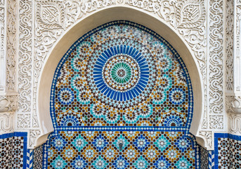 moroccan tile decor