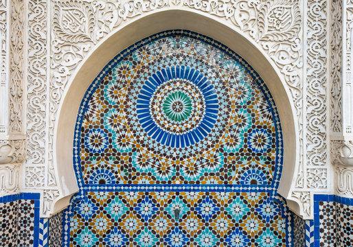 moroccan tile decor
