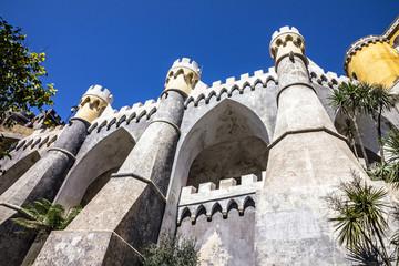 Fotomurales - Sintra, Portugal, Pena National Palace. Palacio Nacional da Pena