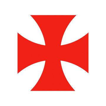 templar knights cross