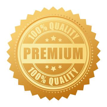 Premium quality gold seal