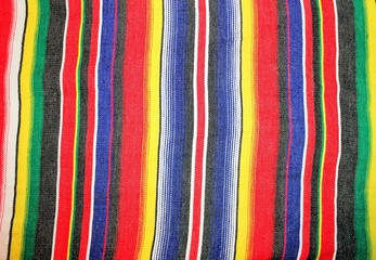 mexican poncho serape background Mexico cinco de mayo  fiesta blanket rug with stripes stock, photo, photograph, picture, image,
