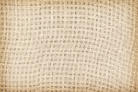 Retro toned natural linen texture or background