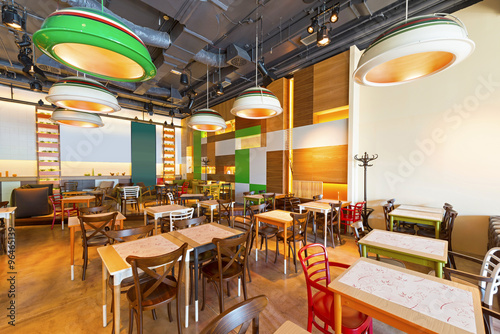 Quot modern restaurant design stock photo and royalty free