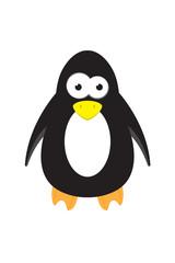 cute cartoon penguin animal vector character