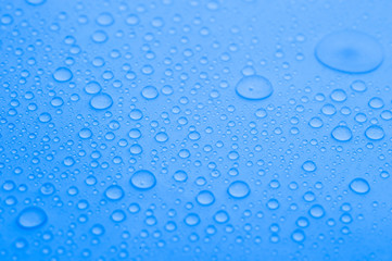 water drops background,soft focus