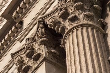 Corinthian Columns Top Detail
