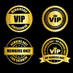 VIP stamp collection