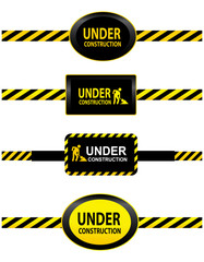 Under construction tapes
