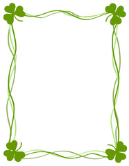 Happy St. Patrick's Day frame