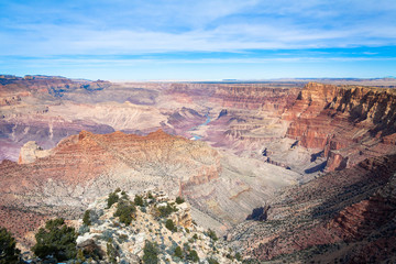 Views of Grand Canyon