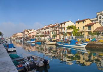 Hafen von Grado / Friaul / Italien