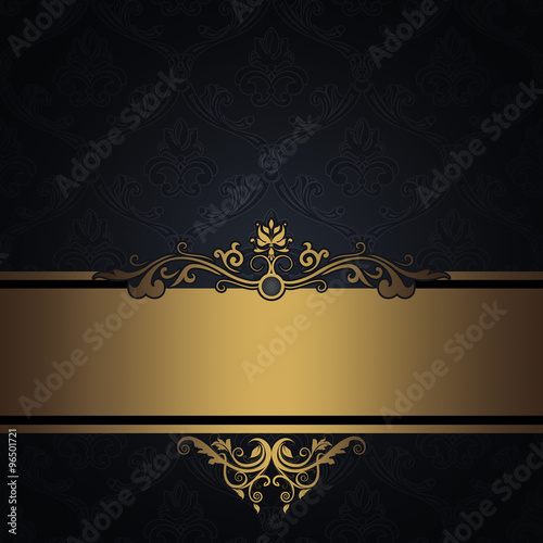 Classy Black And Gold Borders Pictures To Pin On Pinterest