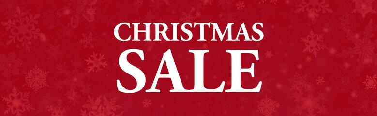 christmas sale web banner