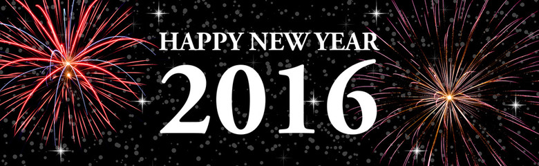 happy new year web banner