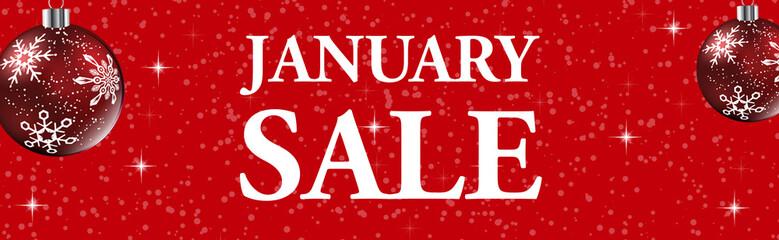 january sale web banner