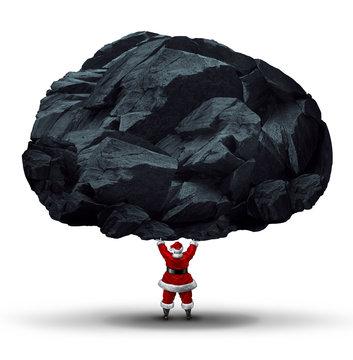 Lump Of Coal Symbol