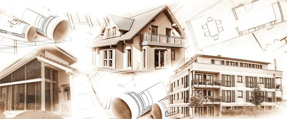 Neubauten und Baupläne
