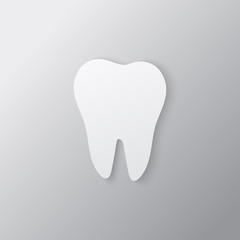 Icon tooth symbol