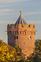 The ancient Powder Tower in the Dutch city of Nijmegen