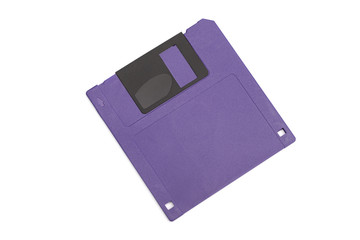 floppy disk on the white background