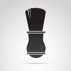 Brush vector icon.