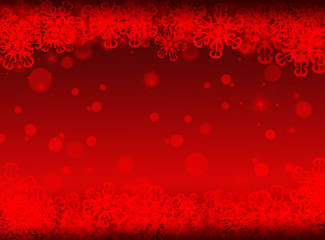 Red Christmas background. New year background