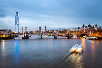Fototapete - London skyline