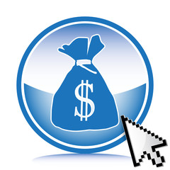 bag dollar icon