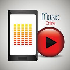 Music online graphic