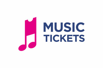 Music Ticket logo Icon