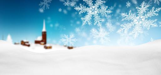 Abstrakte, rote winterliche Grußkarte, Weihnachtskarte mit ...
