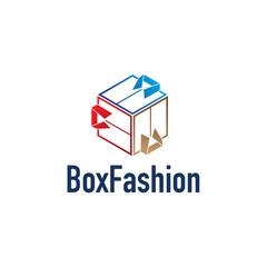 Box Clothes Icon Logo
