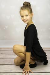 Dziewczyna w stroju baletowym