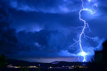 Poster Onweer Tempesta di fulmini