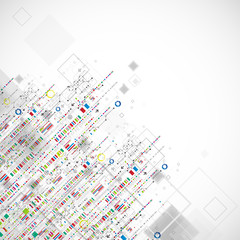 Abstract technology business background.