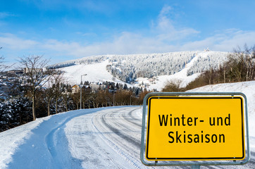 Winter-und Skisaison