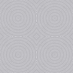 Seamless abstract striped background - embossed surface, circle. Color gray. 3D effect. Vector illustration.
